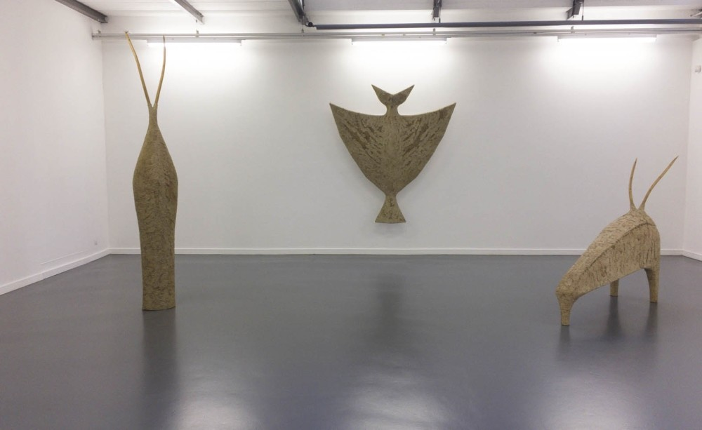 Inspired by Islamic scholar and mystic poet Mevlana Celaleddin Rumi, Yiu011fitou011flu uses Islamic & Anatolian culture as a reference point for her art forms.  Her sculptures aim to decipher the intangibilities of the spiritual world and make them tangible.