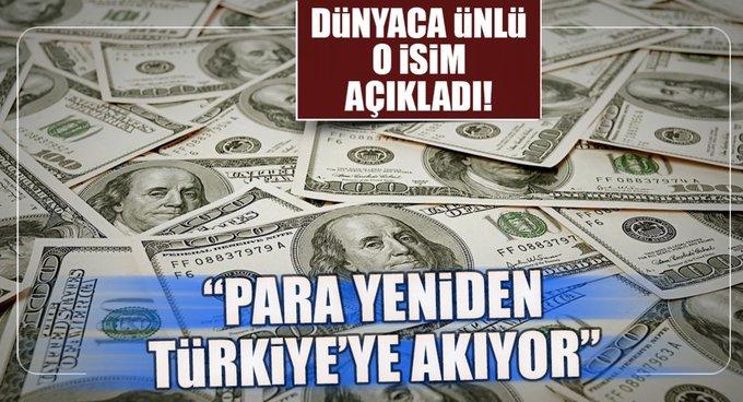 Para yeniden Türkiye gibi ülkelere akıyor