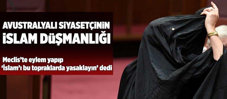 Avustralya Parlamentosu'nda İslam karşıtı eylem