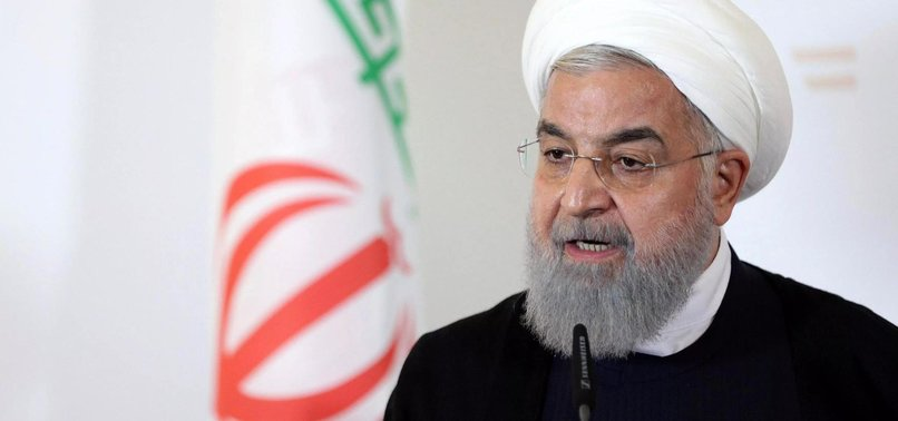 IRANIAN PRESIDENT URGES EU TO SAVE NUCLEAR DEAL