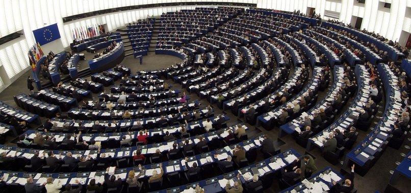 EUROPEAN PARLIAMENT CALLS FOR SUSPENSION OF TURKEYS EU ACCESSION PROCESS