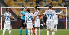 Inter hits crossbar twice in 0-0 draw at Shakhtar in CL