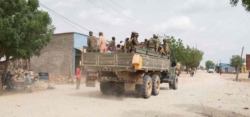 ETHIOPIA ACCUSES SUDAN OF BREACHING BORDER