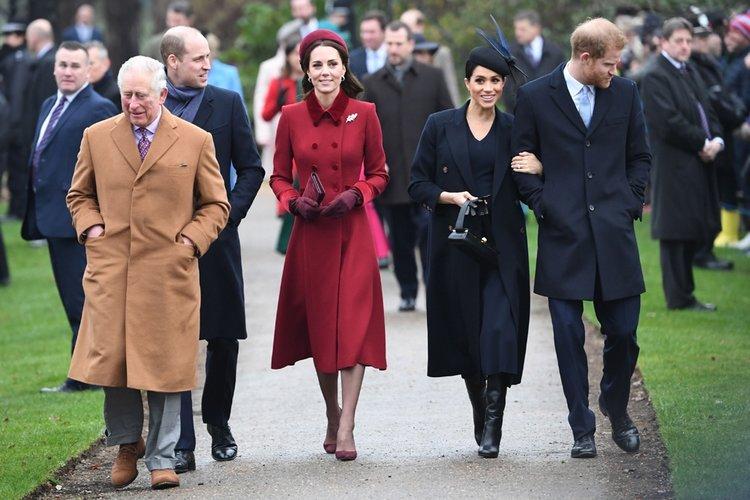 Meghan Markle ve Kate Middleton aylar sonra bir arada!