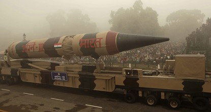 pIndia successfully test-fired a long range, intercontinental surface-to-surface, nuclear-capable ballistic missile called the Agni-V on Monday, the state run All India Radio announced./p  pThe...