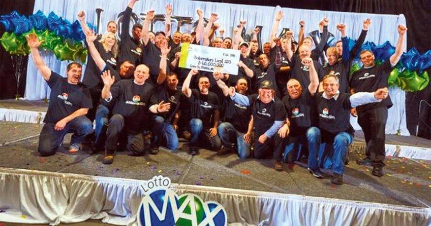 47 milyon $'lık loto iş arkadaşlarına çıktı