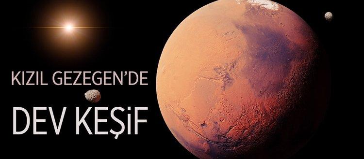 Kızıl Gezegen'de dev keşif