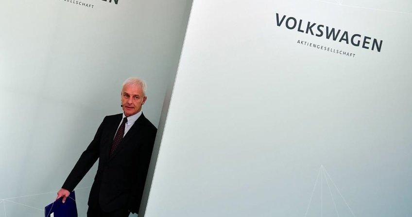 Volkswagen'de Müller depremi