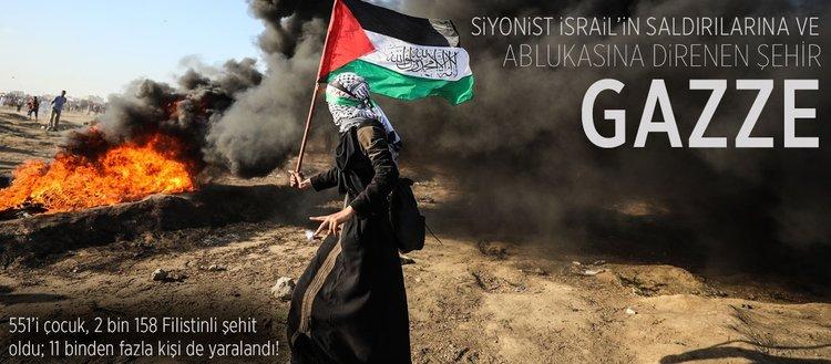 İsrail saldırıları ve ablukasına direnen şehir: Gazze