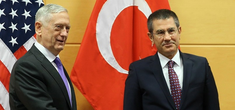 MATTIS TO MEET TURKISH DEFENSE MINISTER CANIKLI IN BRUSSELS TO DISCUSS SYRIA