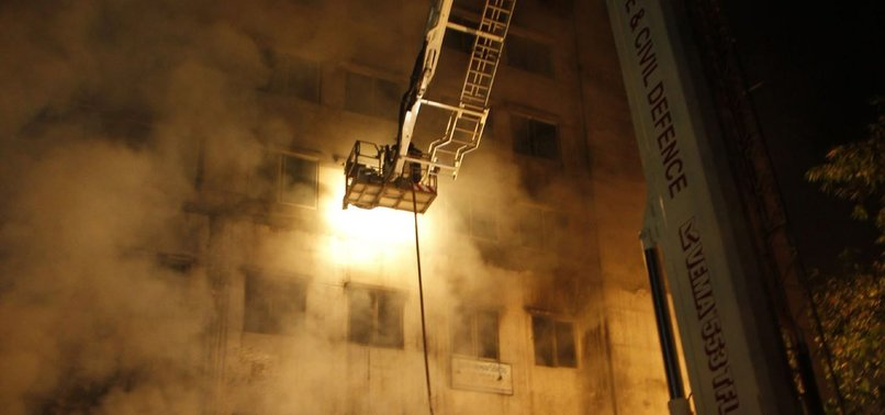 FIVE CORONAVIRUS PATIENTS DIE IN BANGLADESH HOSPITAL FIRE