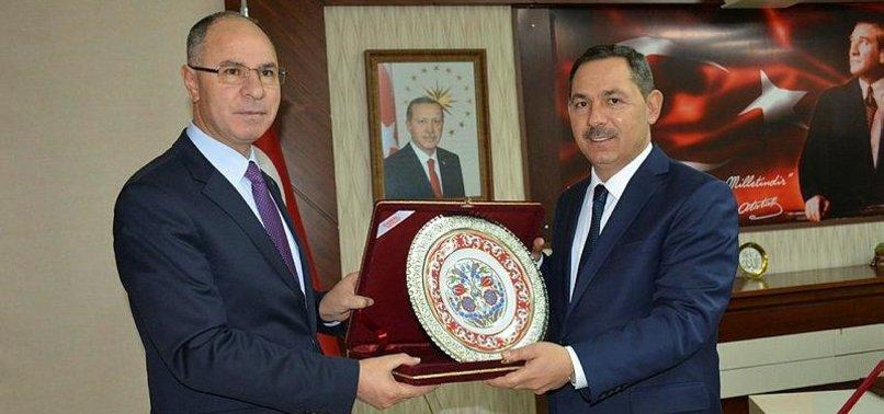 ENVOY PRAISES TURKEY'S EFFORTS FOR PALESTINE