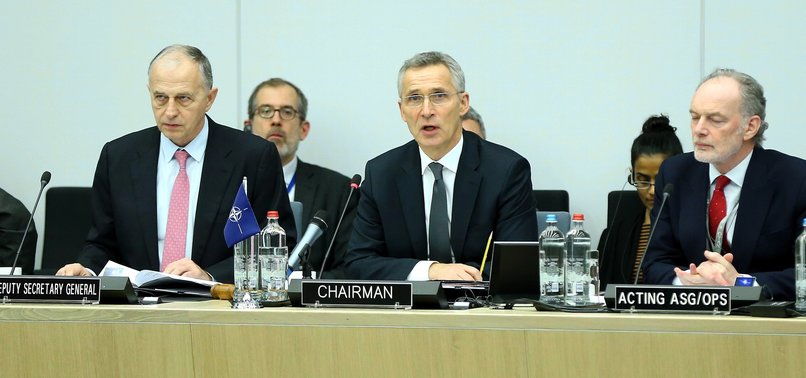 NATO MEMBERS AGREE ON DEFENSIVE MEASURES AGAINST RUSSIA