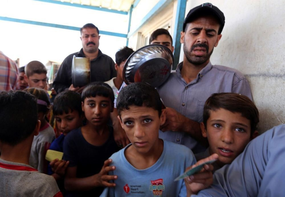 Thousands of Iraqis were displaced due to government forces and Iranian-backed Shiite militias fighting against  DAESH.