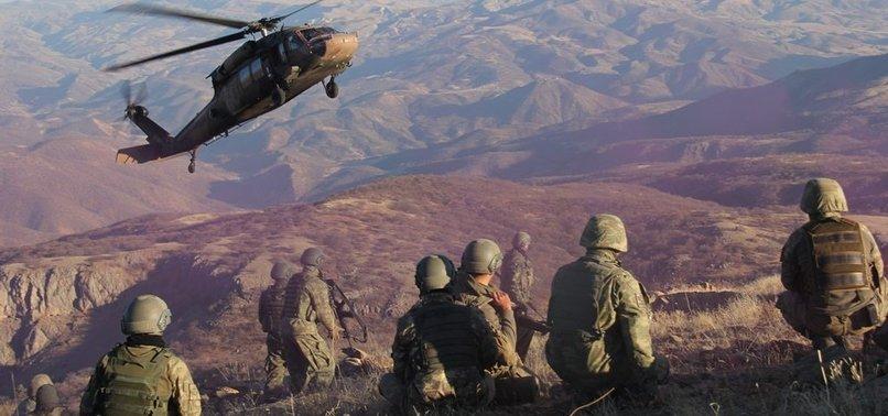 TURKISH SECURITY FORCES NEUTRALIZE 7 PKK TERRORISTS IN NORTHERN IRAQ