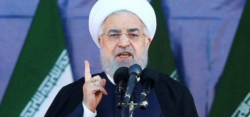 EUROPE SUPPORT AGAINST US RARE VICTORY FOR IRAN: ROUHANI