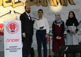 Bilal Erdoğan'dan İmam Hatiplilere övgü