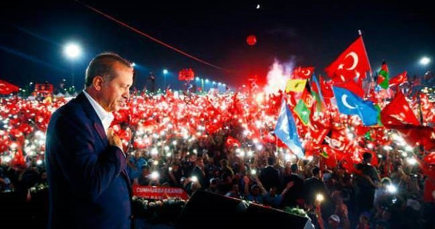 Türkiye mitingi atv ve aHaber'den izledi