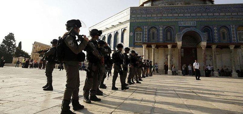 OVER 1,700 JEWISH SETTLERS STORM THE AL-AQSA MOSQUE