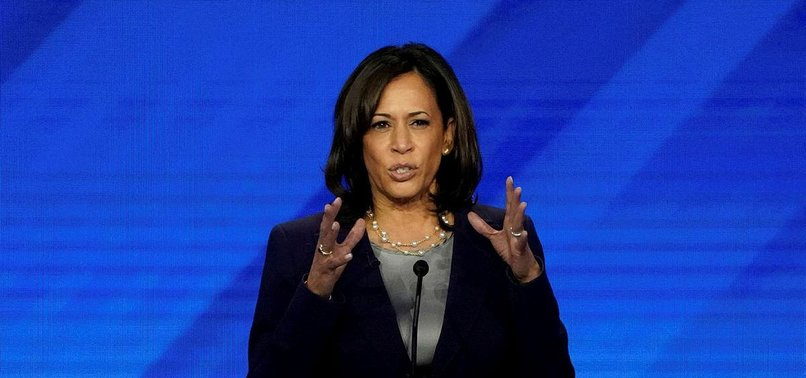 HARRIS URGES NEW INVESTIGATION OF KAVANAUGH, FBI