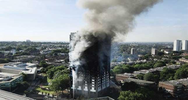 Sistem sorgulamasına dönüşen bir apartman felaketi Grenfell Tower