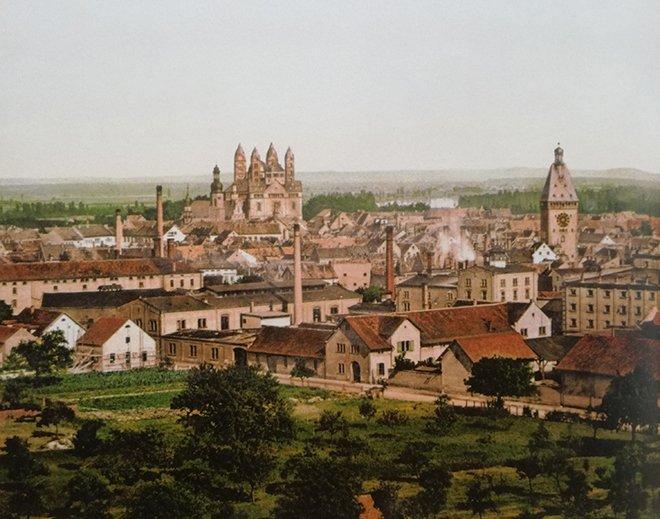 Speyer'in genel görüntüsü