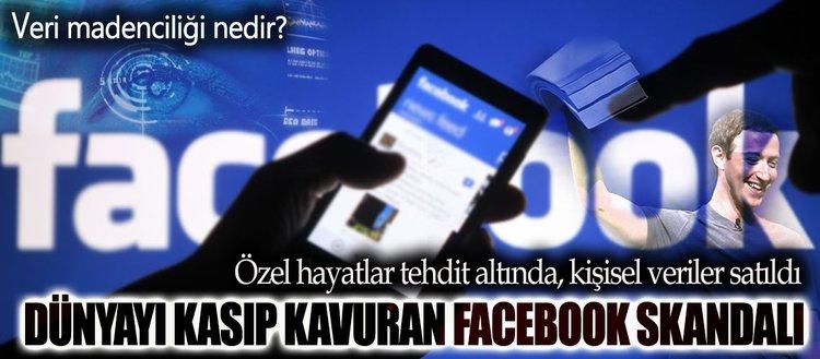 Facebook'un veri madenciliği