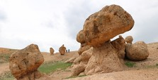 Oddly shaped rocks of Sivas now a tourist hot spot