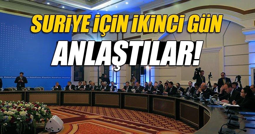 Türkiye, Rusya ve İran Astana'da uzlaştı!