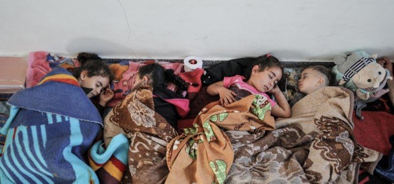 34,000 GAZANS SEEK REFUGE AT UNRWA SCHOOLS AMID ISRAELI ATTACKS