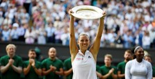 Kerber stuns Williams to win first Wimbledon title