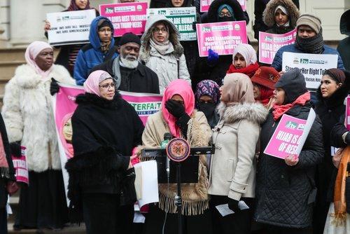 Muslim women in New York mark World Hijab Day - anews