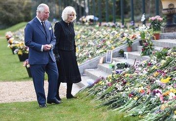Galler Prensi Charles, babası Prens Philip'in ölümünden sonra ilk kez görüntülendi