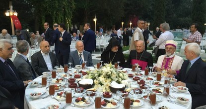 The Presidency of Religious Affairs (DİB), Turkey's state-run religious authority, hosted an iftar, the fast-breaking dinner during Ramadan, for representatives and members of non-Muslim...