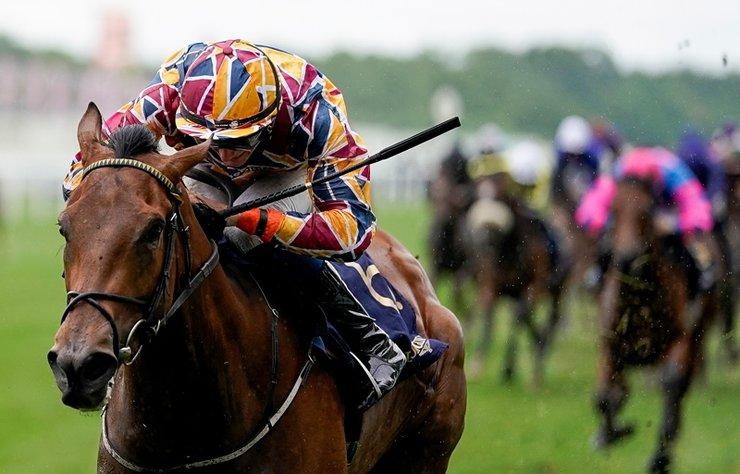 En prestijli at yarışlarına zarif dokunuş