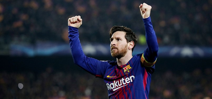 MESSI REACHES 100 CHAMPIONS LEAGUE GOALS AS BARCELONA MAKES LAST 8