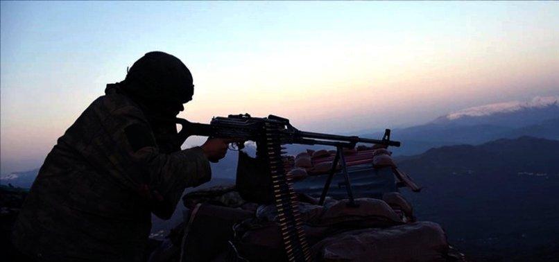 TURKEY NEUTRALIZES 6 PKK TERRORISTS IN N.SYRIA, N.IRAQ