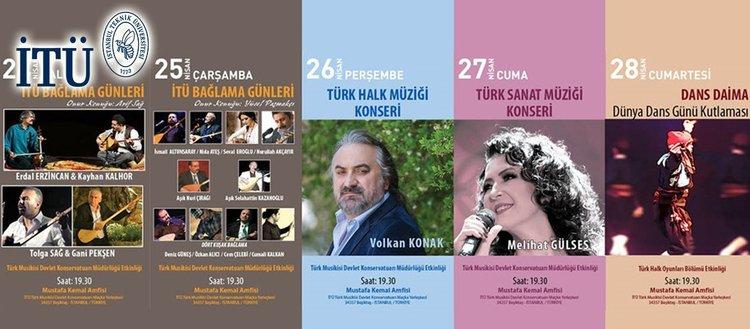 İTÜ'de kültür ve sanat haftası