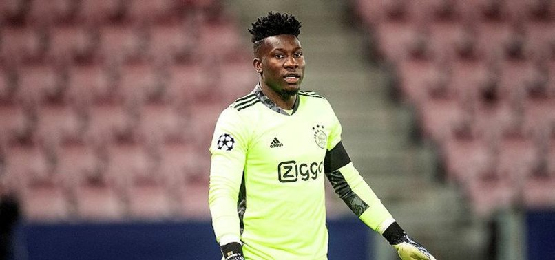 AJAX GOALKEEPER ONANAS BAN FOR DOPING CUT TO 9 MONTHS