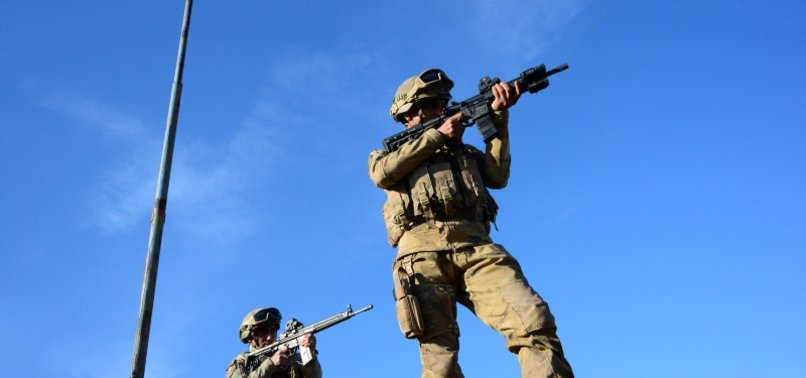 TURKISH FORCES 'NEUTRALIZE' 2 MORE PKK TERRORISTS IN NORTHERN REGION OF IRAQ
