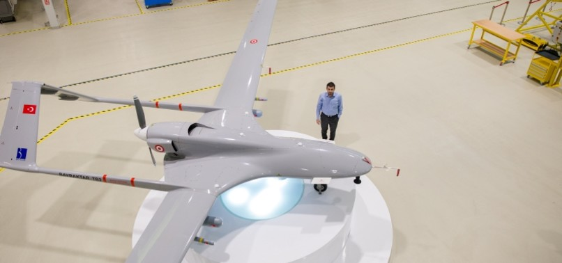 TURKEYS BAYKAR TO LAUNCH UNMANNED COMBAT AIRCRAFT BEFORE 2023