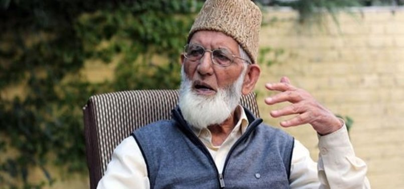 SENIOR KASHMIRI LEADER GEELANIS HEALTH DETERIORATES