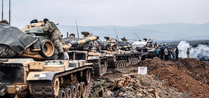 287 TERRORISTS NEUTRALIZED SO FAR IN TURKEYS SYRIA OP