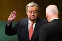 اعلن الامين العام الجديد للامم المتحدة انطونيو غوتيريس عزمه على أن يجعل من 2017