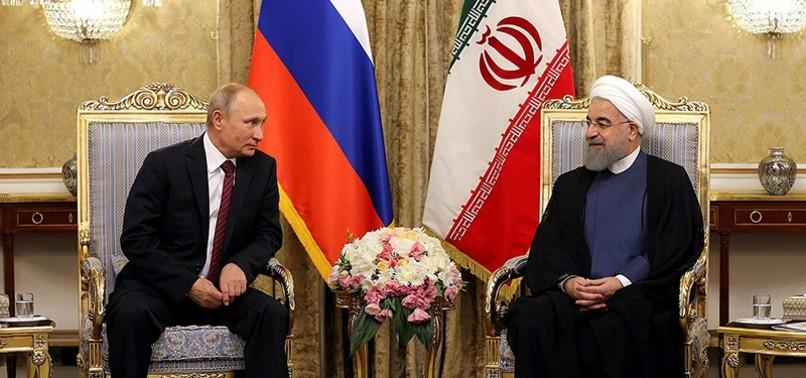 STRIKES ON ASSAD REGIME DAMAGE CHANCES OF POLITICAL RESOLUTION IN SYRIA, PUTIN TELLS IRANS ROUHANI