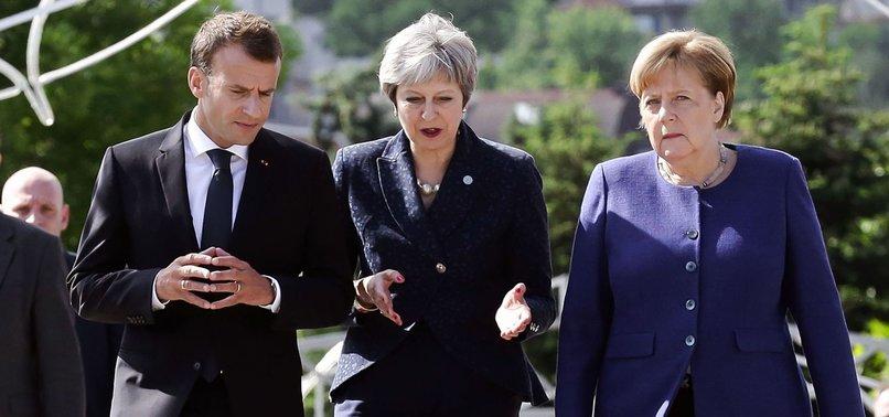 EUROPEAN UNION TO TRUMP: STOP THREATENING US WITH TARIFFS