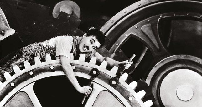 Makineleşme temayülü Chaplin ve Modern Zamanlar