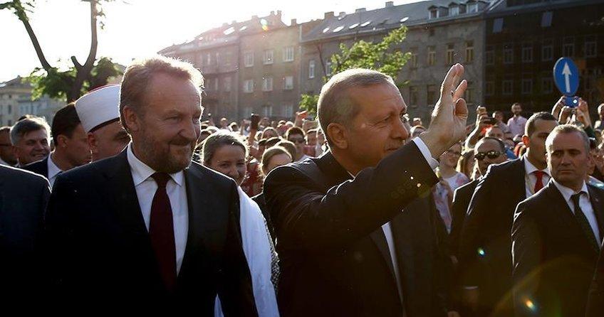 Cumhurbaşkanı Erdoğanın Avrupalı Türkler ile buluşmasına büyük ilgi