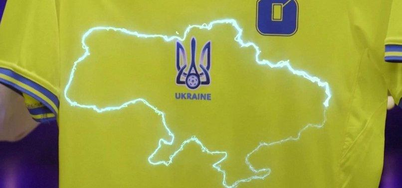 UEFA DEMANDS UKRAINE MAKE CHANGES TO POLITICAL JERSEY