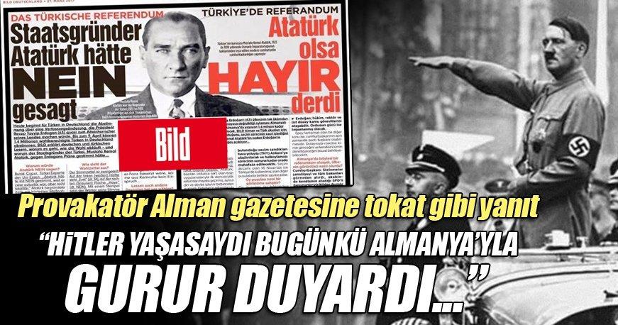 Mehmet Metiner: Hitler yaşasaydı sizinle gurur duyardı
